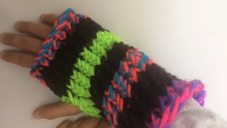 How to Knit a Fingerless Glove - Easy step by step