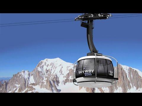 Funivia del Monte Bianco — Courmayeur, Valle d'Aosta