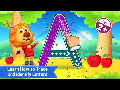 "ABC Kids Tracing Phonics ""RV AppStudios Educational Education Games"" Android Gameplay Video"