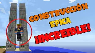 Épicas Torres Gemelas - Minecraft