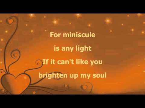 Stevie Wonder For Your Love Acapella lyrics