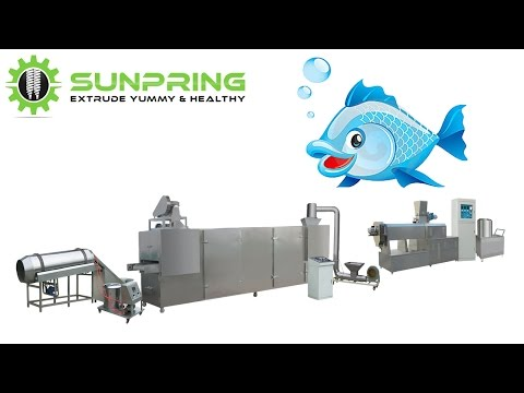 Floating fish feed pellet extruder machine | SunPring®