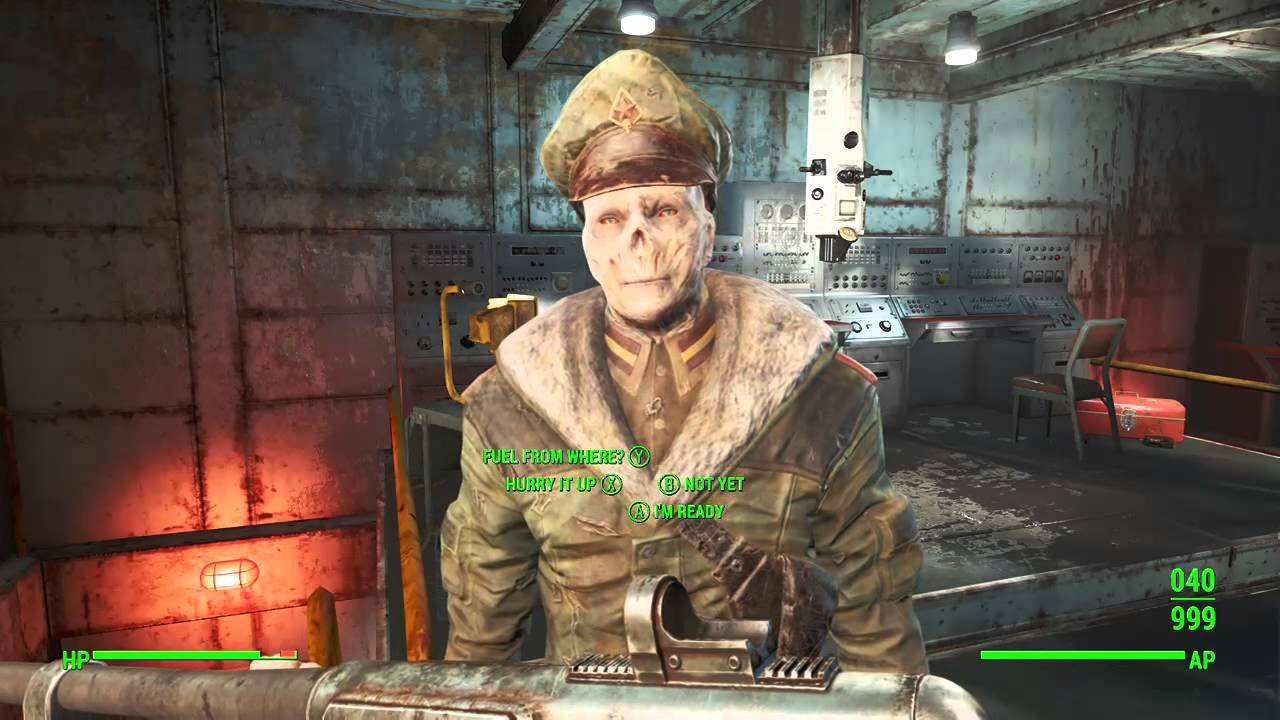 how to get nuclear option quest fallout 4
