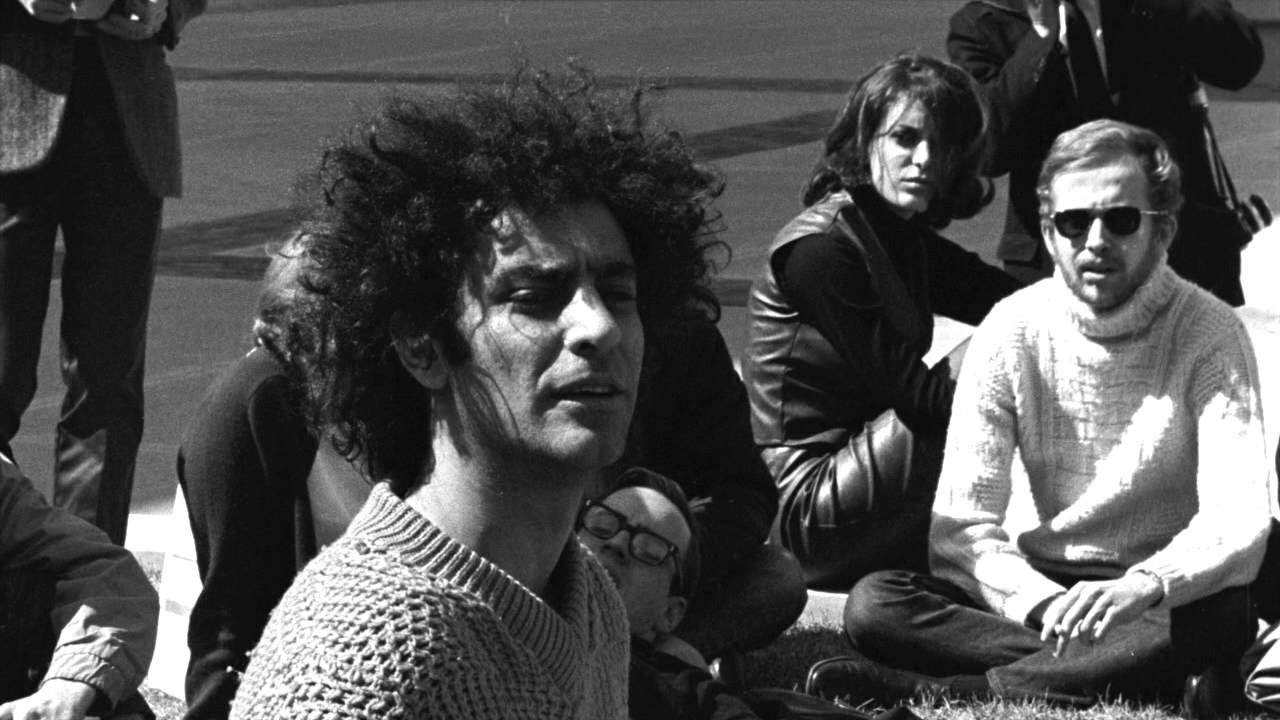 Abbie Hoffman Leading The 60s Counter Culture Revolution