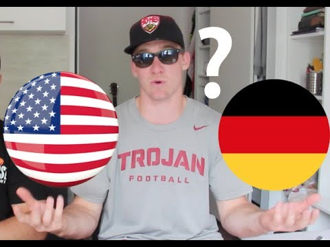 Are GERMANS more STRICT than AMERICANS?!