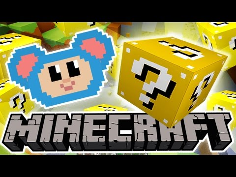 Eep and the Lucky Blocks Maze and More | Treasure Box Challenge | Mother Goose Club Minecraft