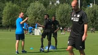 Reprise de l'entraînement de l'Amiens SC