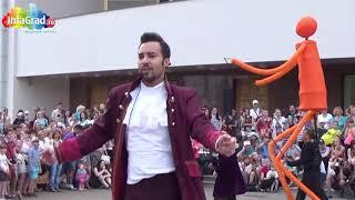 """BIG DANCERS"" -XXI Arkhangelsk International Street Theatre Festival (Rusia) 1ºDÍA. 2015"
