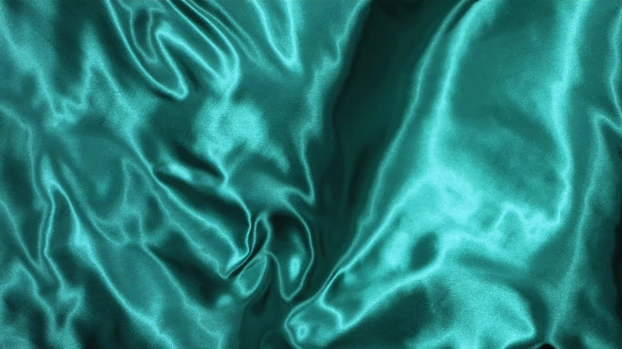 Free Slow Motion Footage Wavy Green Silk Fabric  YouTube