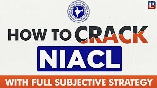 How to Crack NIACL Exam 2018 With Strategy |  Sure Selection Tips ज़रूर देखे