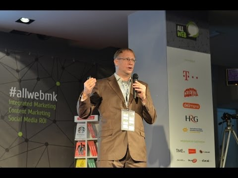 Dragan Varagic (@varagic) at AllWeb Conference, Skopje Macedonia