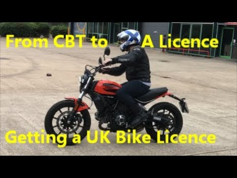 "How To get ""A1 A2 A"" 🏍 Motorcycle Licence UK"