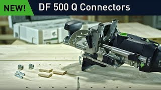 DOMINO DF 500 connectors: Quick Knock-down Fasteners for Joinery