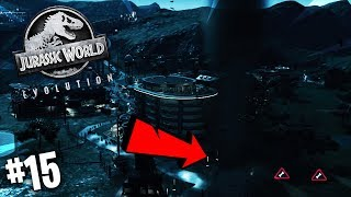 WIELKIE *TORNADO* NAWIEDZIŁO NASZ PARK! | Jurassic World Evolution #15