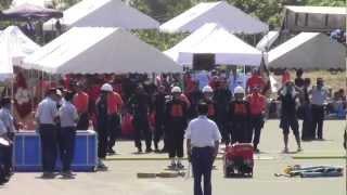 小千谷市消防団 6-4塩殿 第63回新潟県消防大会 2012年8月5日