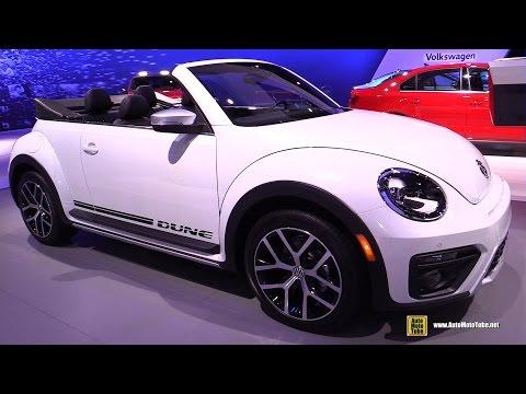 2016 Volkswagen Beetle Dune Convertible - Exterior and Interior Walkaround - 2016 New York Auto Show