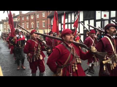 Battle Of Nantwich 2016! (reenactment of 1644 battle)