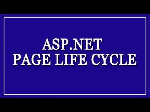 Asp. Net Page Life cycle