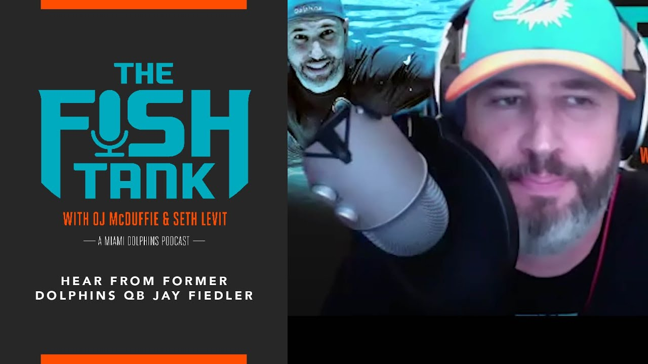 Former Dolphins QB Jay Fiedler joins The Fish Tank | Miami Dolphins
