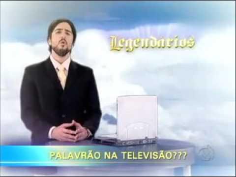 Legendários faz enquete sobre palavrão na TV #arquivolegendários