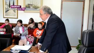 Μαθητές 2ου Δημοτικού στο δήμαρχο Κιλκίς-Eidisis.gr webTV