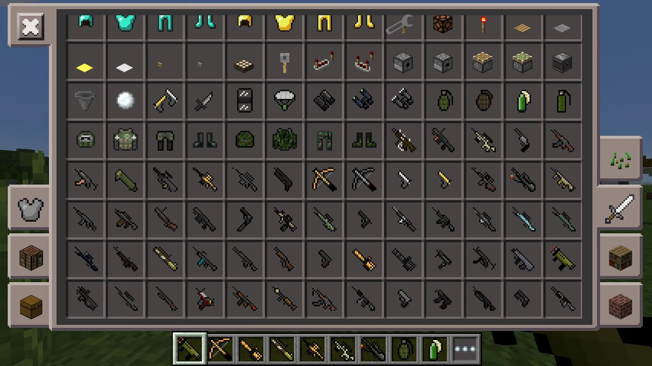 How To Get Guns In Minecraft PEInstall Link MCPE V0156 RPGs SnipersampMoreDesnoGuns