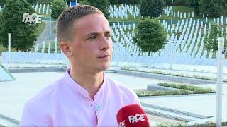 Amir Šečić, dijete Srebrenice: Izgubio sam oca Ibrahima. Moja pojava je dokaz genocida.