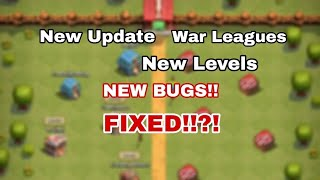 October Update ,2018    Clash of Clans Make Over ,New Shop,New levels   NEW BUGS
