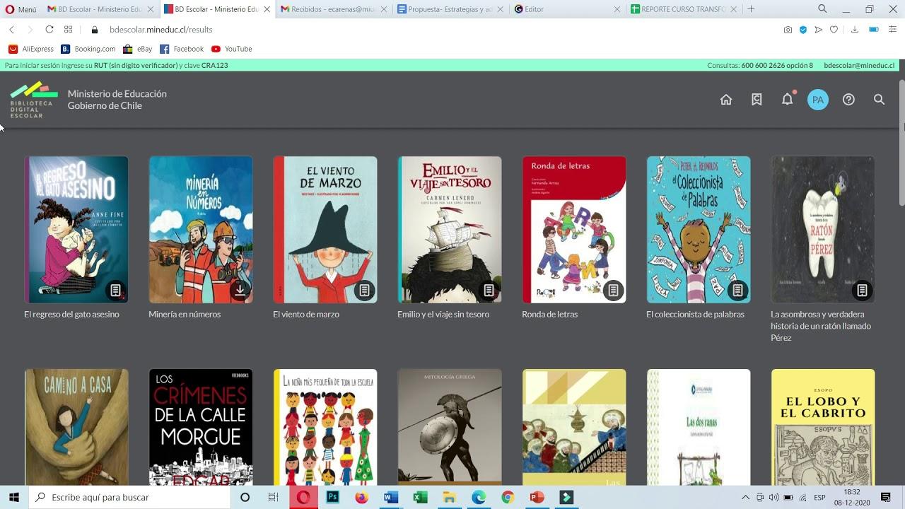 Invitación  a visitar a la biblioteca digital escolar