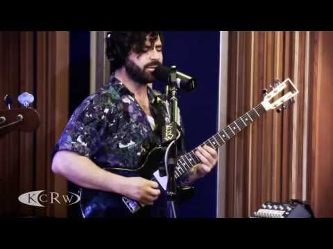 "Foals performing ""Inhaler""  on KCRW"