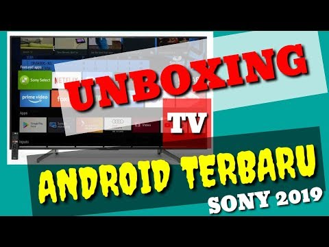 """unboxing-tv-android-sony-65-inch-""""g""""-series-2019-(65x8000g)"""