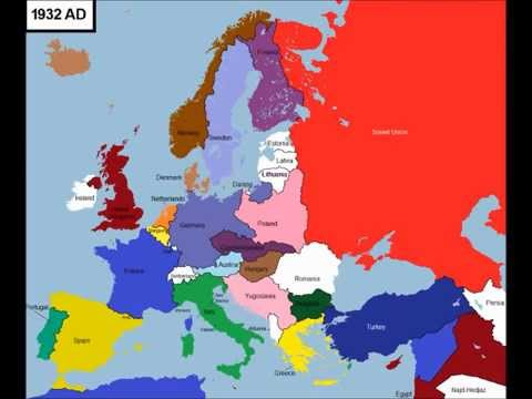 Cartina Politica Europa 1914.6014 Anni Di Storia Dell Europa In 7 Minuti Youtube