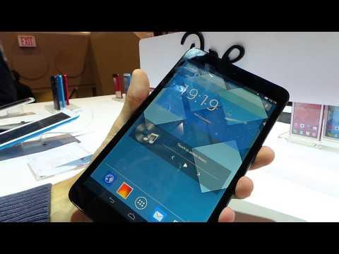 Alcatel POP8 tablet bemutató videó | Tech2.hu
