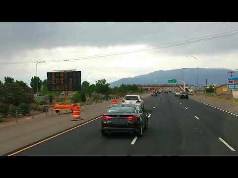 Mr.Sinnizter DaTrucker: Trucking Through  I40 Albuquerque,New Mexico