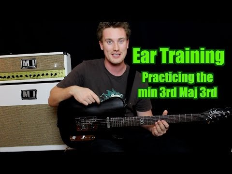 Ear Training: Practice, minor 3rd Major 3rd Intervals (Train your ears)