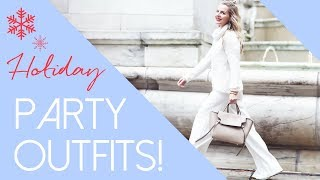 Five Holiday Party Outfit Ideas