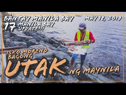 MANILA BAY UPDATE (MAY 18, 2019) - MAYOR ISKO /  BANTAY MANILA BAY 17