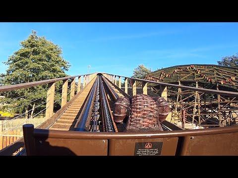 Wicker Man HD Front & Back Seat POV - Alton Towers Resort