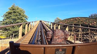 Wicker Man HD Front & Back Seat POV - Alton Towers Resort