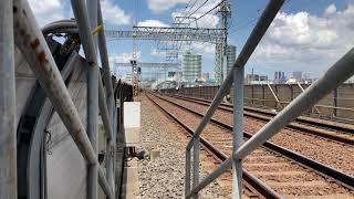 京成3100形(3153編成)臨時電車四ツ木通過