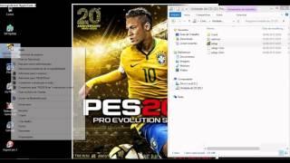 PES2016 PC  - COMO INSTALAR + CRACK + TRADUÇÃO + GRAFICO HD