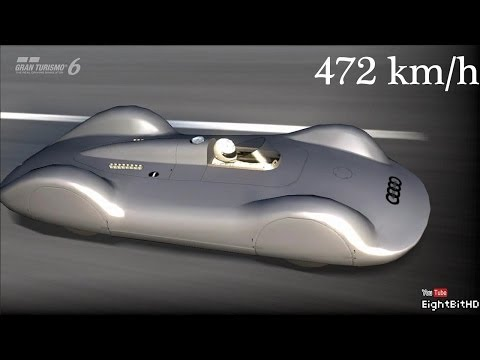 Gran Turismo 6 Audi Auto Union V16 Type C Streamline