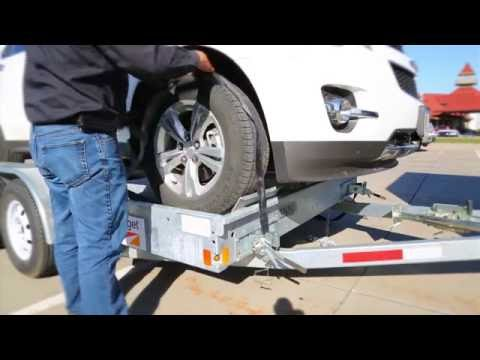 Budget Car Carrier Loading and Unloading Instructions