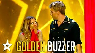 Performers Get GOLDEN BUZZER on Got Talent Greece | Got Talent Global