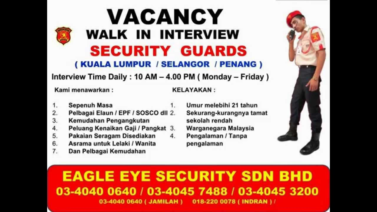 Security Guard Jobs Dubai