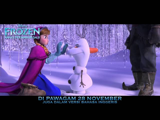 Disney Frozen: Anna & Permaisuri Salji - Treler BM (suara Liyana,Marsha&Ray) - Di Pawagam 28 Nov Travel Video