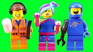 Lego Movie 2 Lego Minifigures ! Imaginext Batman ! Superhero Toys
