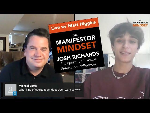 Josh Richards on LinkedIn Live