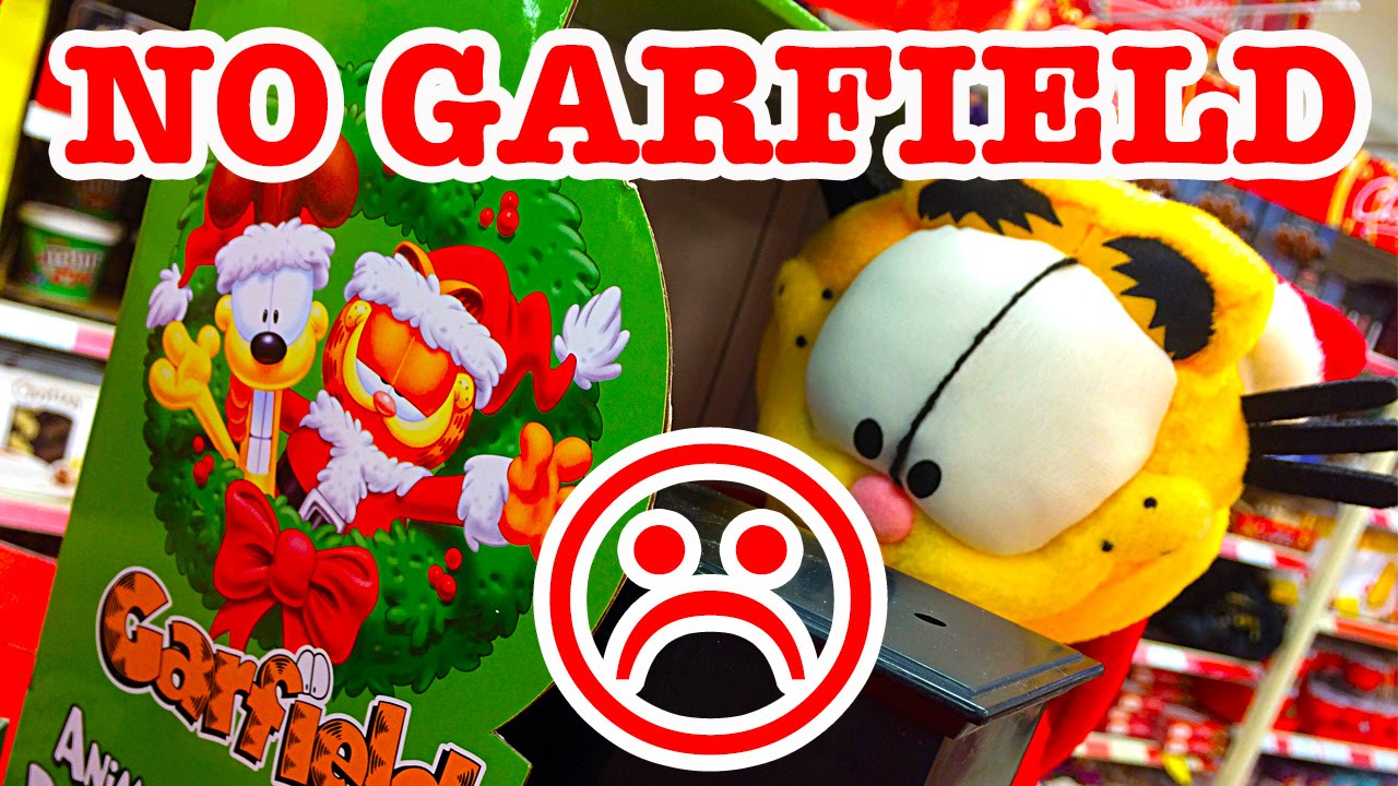 No Christmas Garfield I M A Very Upset Toy Collector