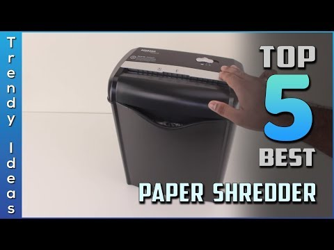 Top 5 Best Paper Shredder Review In 2020